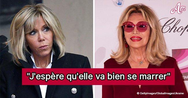 Brigitte Macron : Le cadeau hilarant qu'elle a reçu d'Amanda Lear
