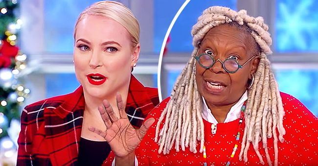 Meghan McCain Addressed Her Recent Spat with 'View' Co-Host Whoopi Goldberg and Said They Get Along