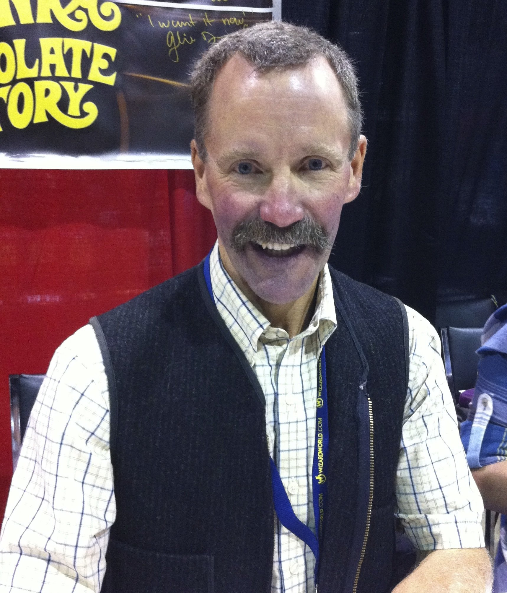 Peter Ostrum at the 2011 Wizard World Chicago event; the child cast of Willy Wonka & the Chocolate Factory were promoting that film's 40th anniversary.| Wikimedia Commons
