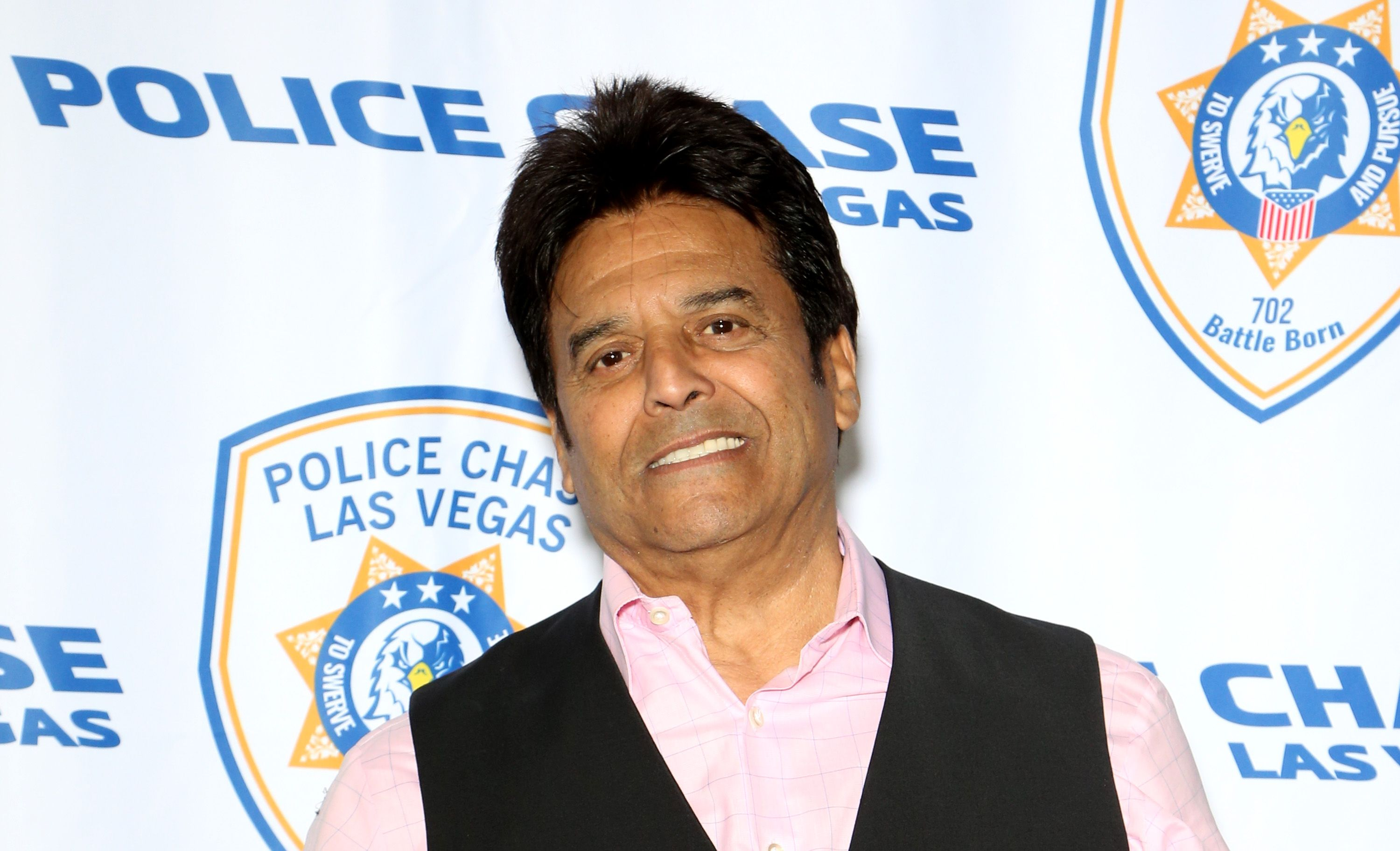 Actor Erik Estrada at the grand opening of Police Chase Las Vegas on January 19, 2019 | Photo: Getty Images