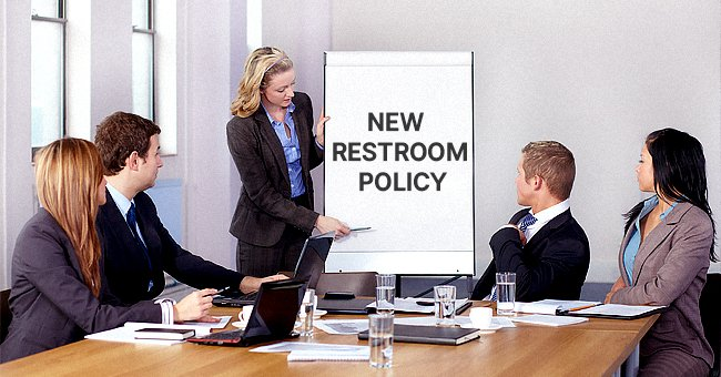 Daily Joke: To Improve Employee Efficiency Company Introduced a New Restroom Policy