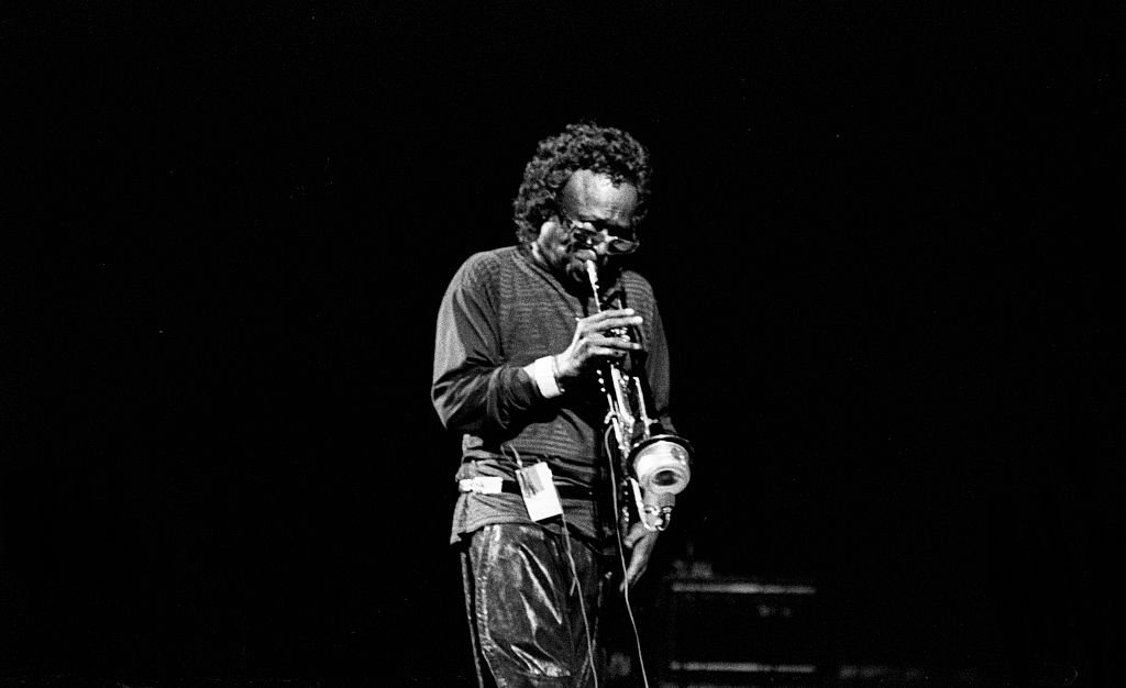 Miles Davis, RFH, London, 1989. Artist: Brian O'Connor | Photo: Getty Images