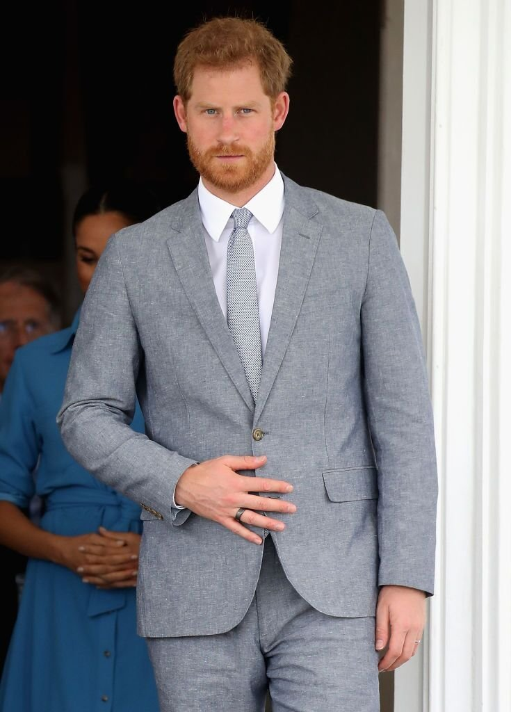 Prince Harry, Duke of Sussex at the Palace of the King of Tonga on October 26, 2018 in Nuku'alofa, Tonga. | Photo: Getty Images
