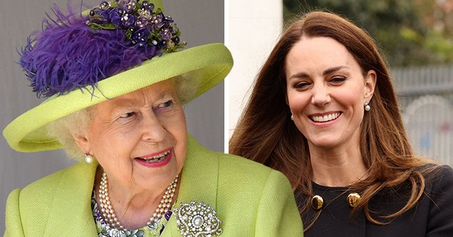 How Kate Middleton Paid Tribute to the Queen on the Monarch's 1st Birthday without Prince Philip