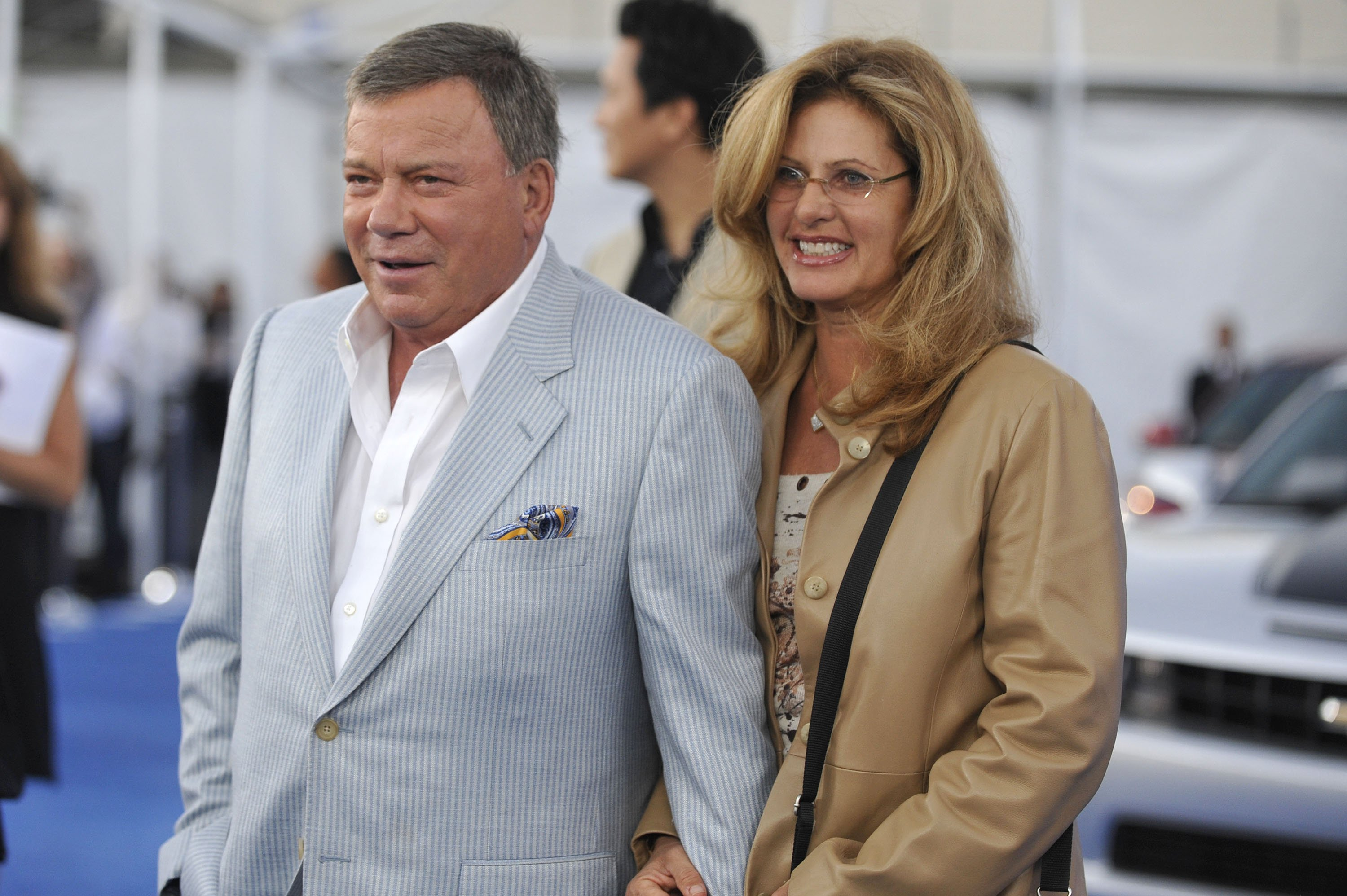 """William and Elizabeth Shatner attend the CBS event """"Cruze Into The Fall"""" held at The Colony on September 16, 2010, in Los Angeles, California. 