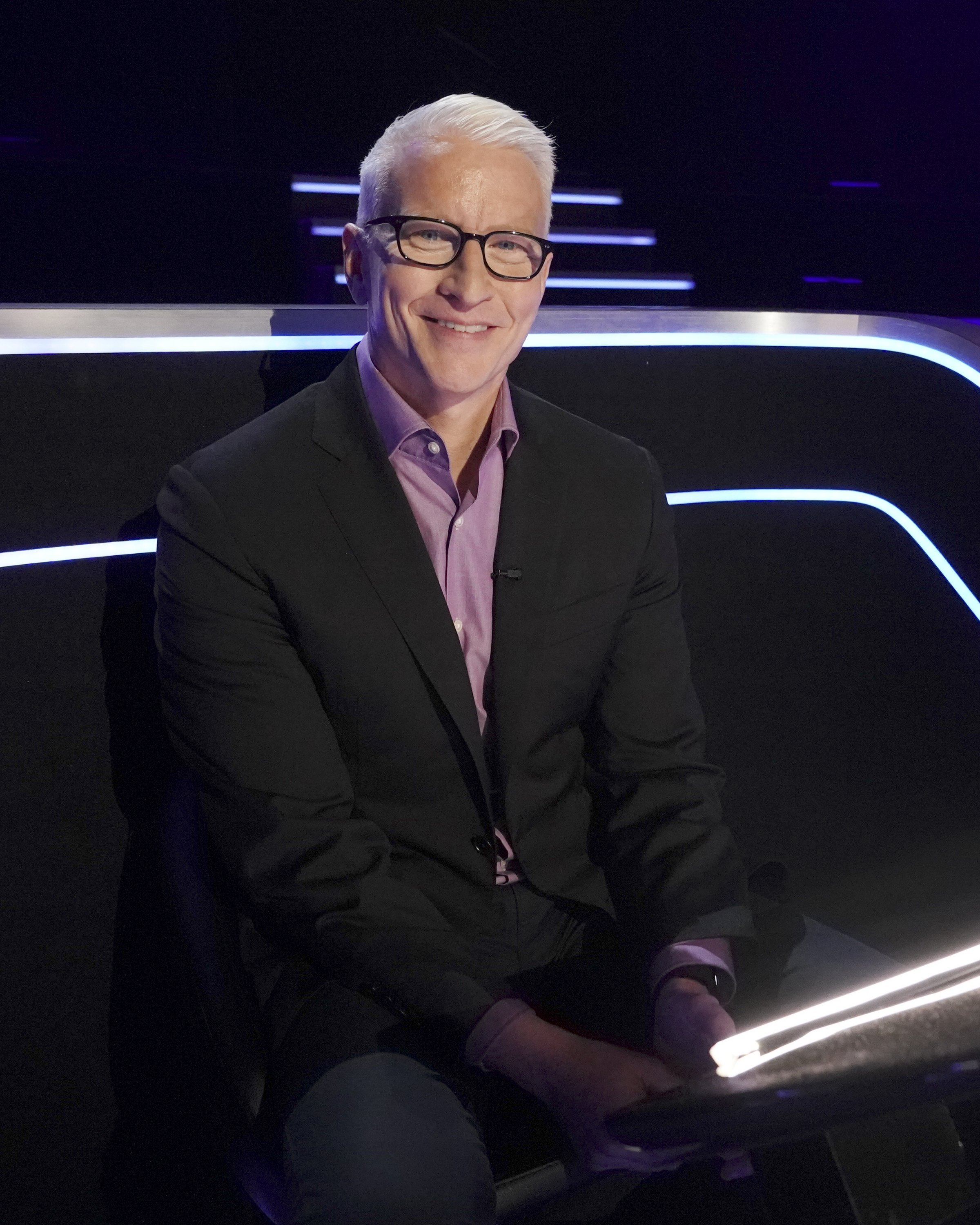 """Anderson Cooper on """"Who Wants To Be A Millionaire"""" on March 14, 2020. 