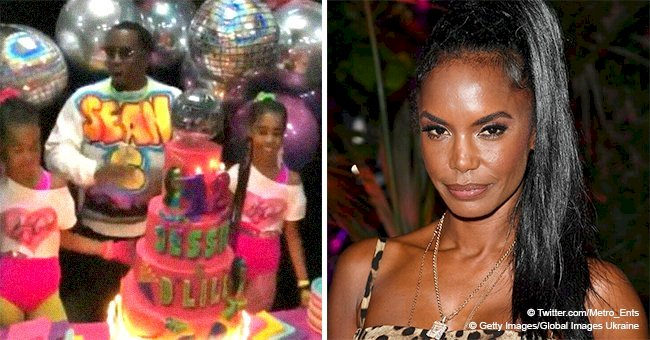 Diddy celebrates daughters' 12th birthday with '80s-themed party 1 month after Kim Porter's death