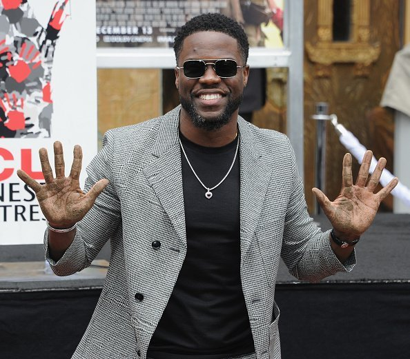 Kevin Hart is honored with a Hand And Footprint Ceremony at TCL Chinese Theatre in Hollywood, California | Photo: Getty Images