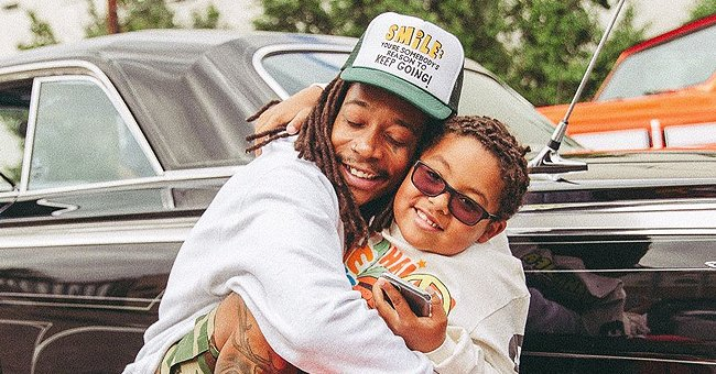 Wiz Khalifa Sparks Heated Debate after Kissing His 7-Year-Old Son on the Mouth — See Reactions