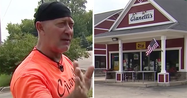 In a viral flag fight, a business owner explains why he refuses to take down American flags despite being ticketed for the action | Photo: Youtube/FOX 32 Chicago