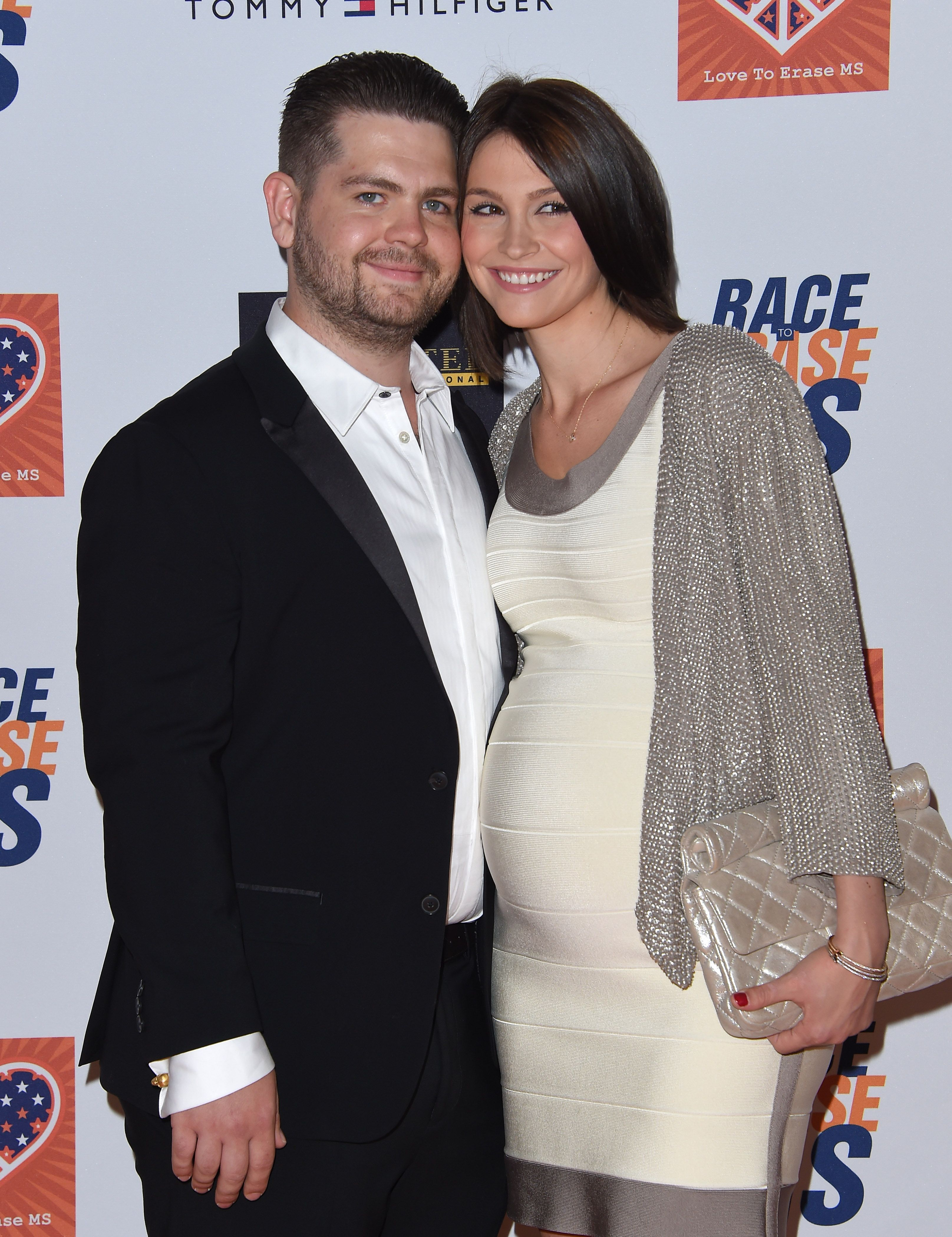 Jack Osbourne and Lisa Stelly at the 22nd Annual Race To Erase MS in 2015 in Century City, California | Source: Getty Images