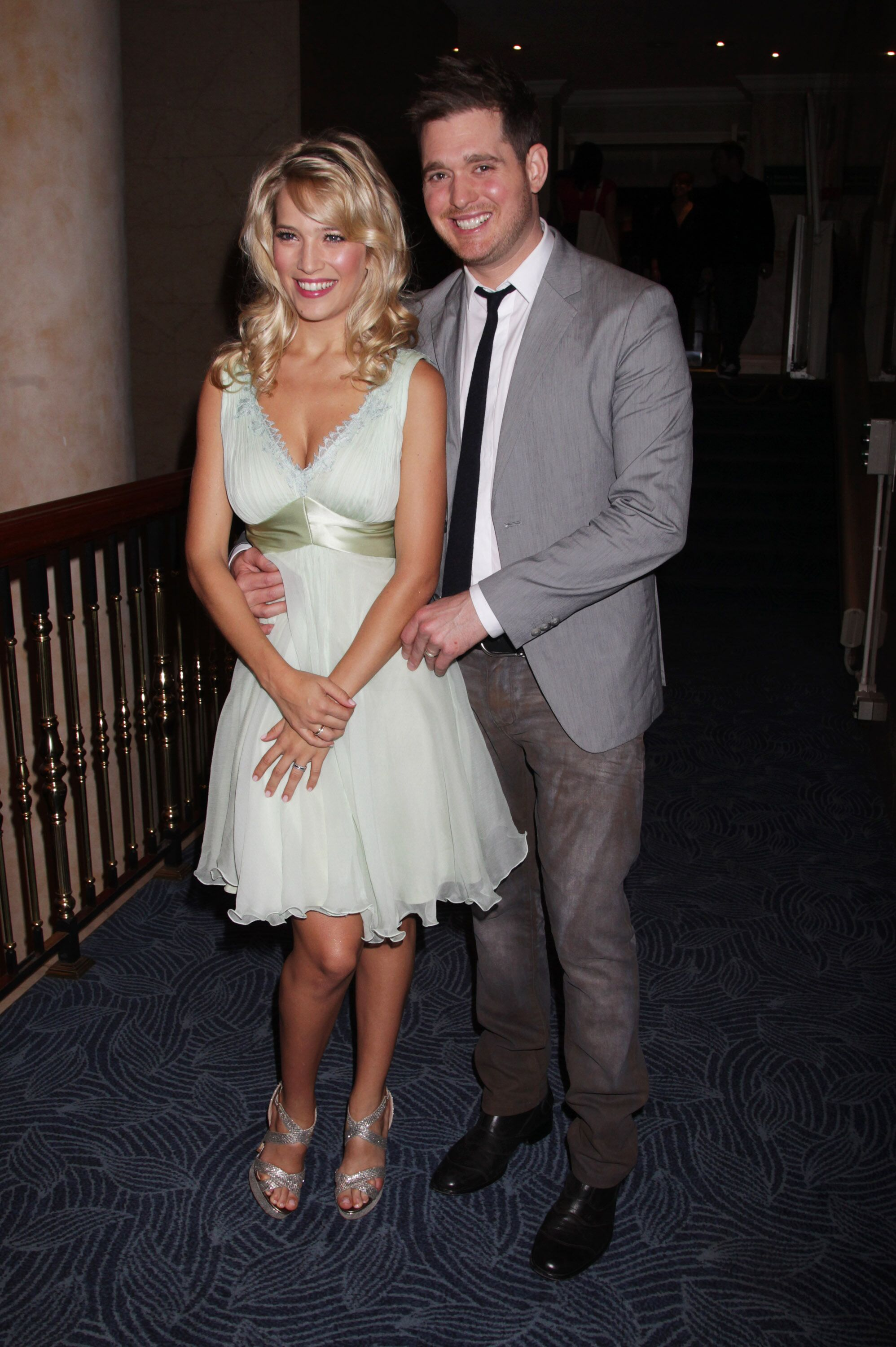 Nordoff Robbins O² Silver Clef Awards - Inside Arrivals LONDON, ENGLAND - JUNE 29: Luisana Lopilato and Michael Buble attend The Nordoff Robbins O¦ Silver Clef Awards 2012 at The Hilton Park Lane on June 29, 2012 in London, England. (Photo by Dave Hogan/Getty Images)