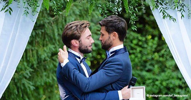 Christophe Beaugrand déclare son amour à son mari Ghislain