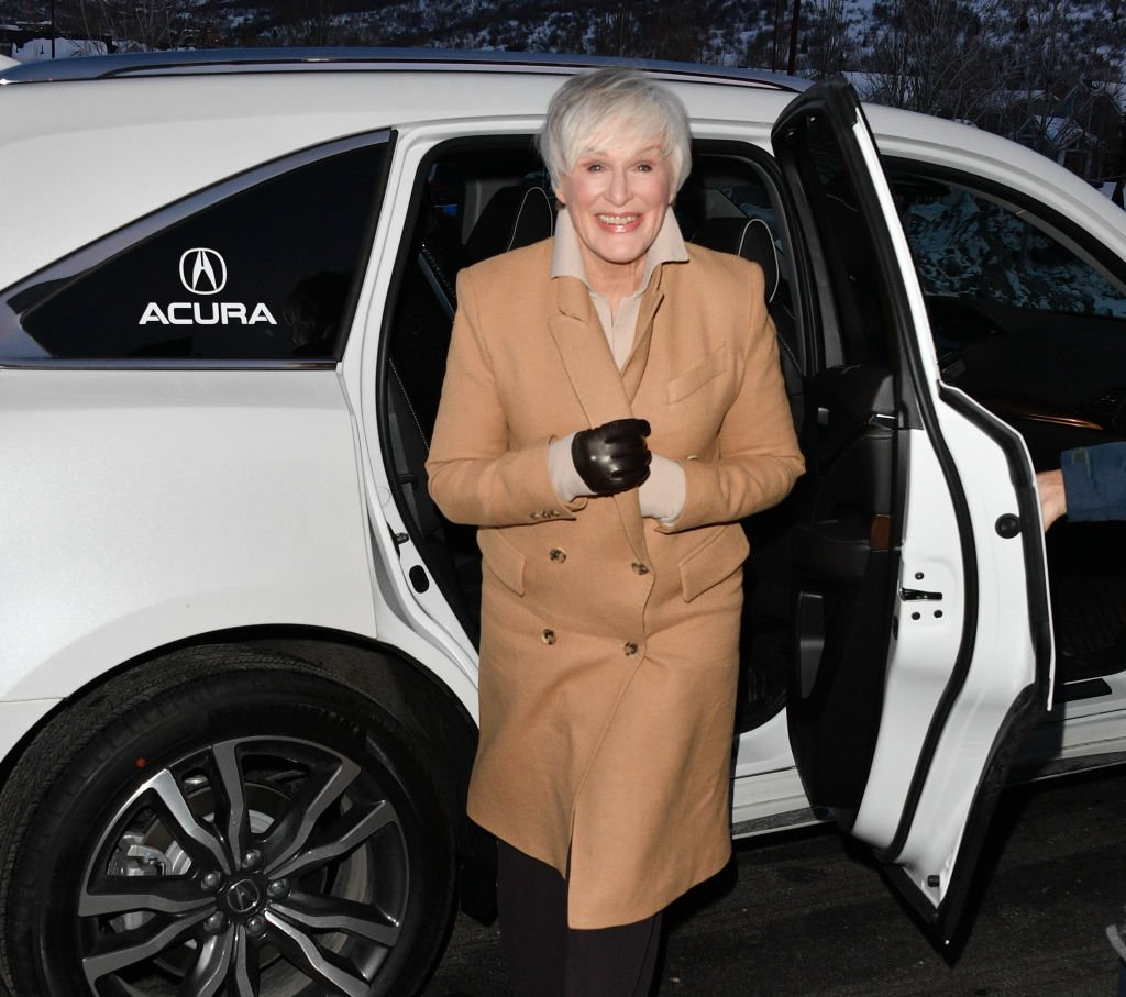 """Glenn Close attend the 2020 Sundance Film Festival - """"Four Good Days"""" Premiere at Eccles Center Theatre on January 25, 2020 