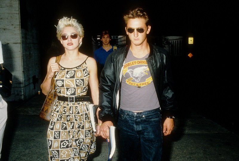 Madonna and Sean Penn in August 1986 in New York City | Photo: Getty Images