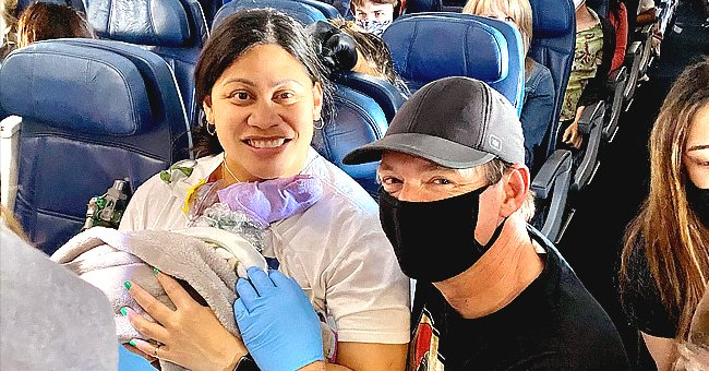 Woman Who Did Not Know She Was Pregnant Gives Birth during a Flight