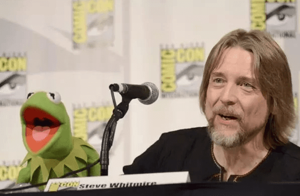Steve Whitmire voiced Kermit the Frog for 27 years.   Source: Getty Images