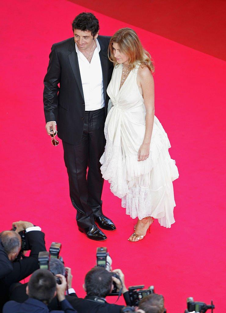 Patrick Bruel et son ex-femme Amanda Sthers. l Source : Getty Images