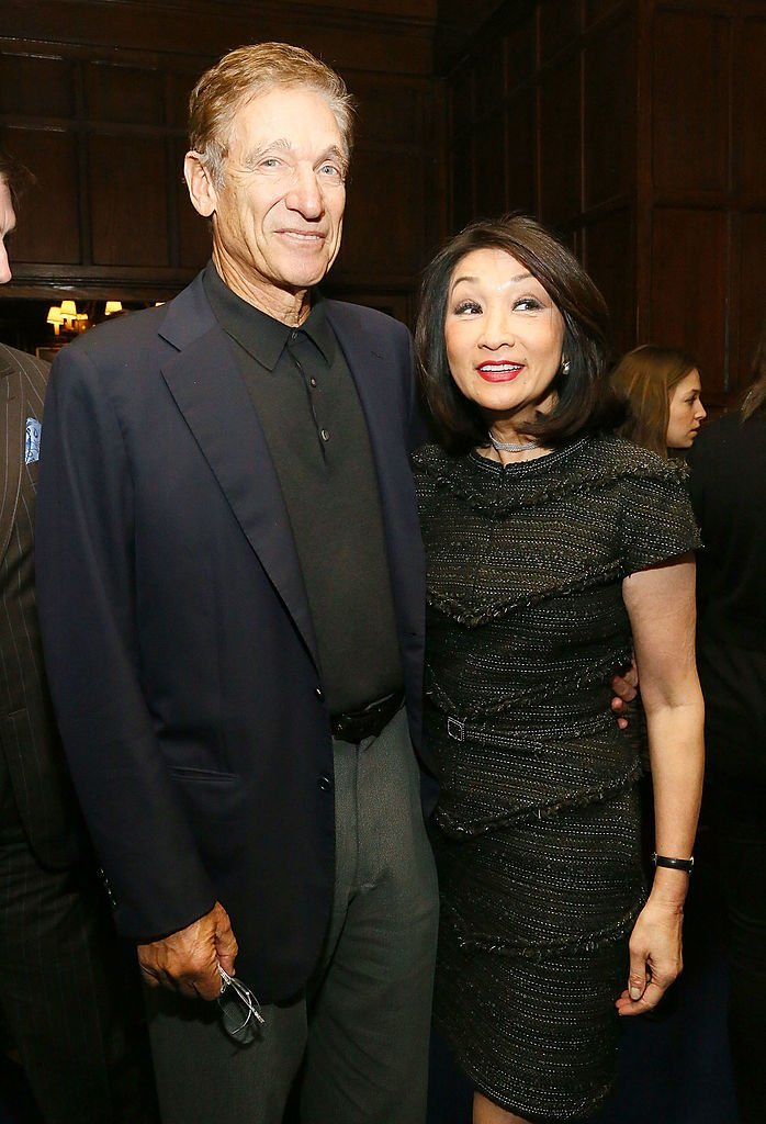 "Maury Povich and Connie Chung attend a luncheon celebrating the release of ""Out Of The Furnace"" at Explorers Club  