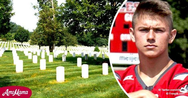 """Eine Familie am Boden zerstört: Der Priester """"stahl das Begräbnis"""" des Sohnes, um seinen Selbstmord zu verurteilen"""