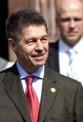 Joachim Sauer, NATO-Treffen, Frankreich | Quelle: Wikimedia Commons