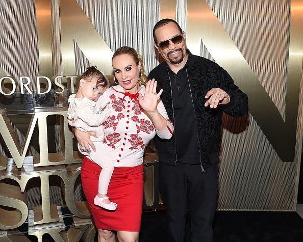 Coco Austin and Ice-T at the Nordstrom Men's NYC Store Opening on April 10, 2018 | Photo: Getty Images