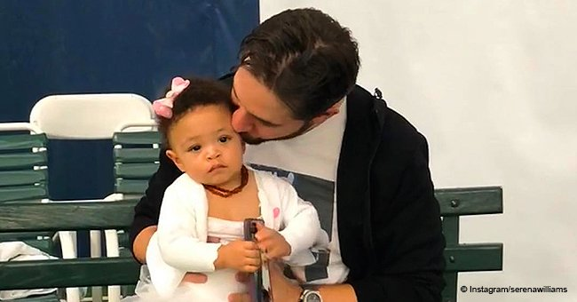 Serena Williams' husband Alexis says 'it's easy to be a proud father' of daughter Olympia
