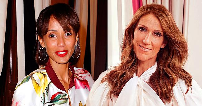 Céline Dion présente une ressemblance frappante avec Sonia Rolland dans un look à carreaux