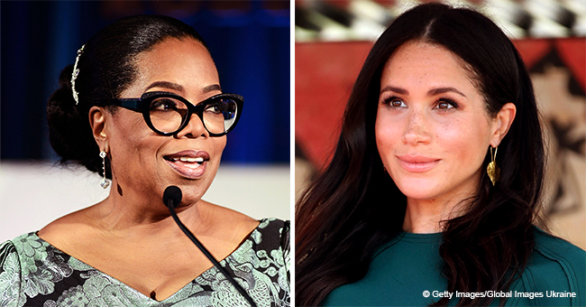 Oprah Winfrey Defends Meghan Markle, Says Duchess Is Being Treated 'Unfairly' in the Press