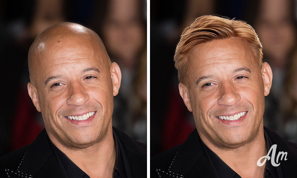 What Famous Bald Actors Would Look Like With A Stylish Haircut