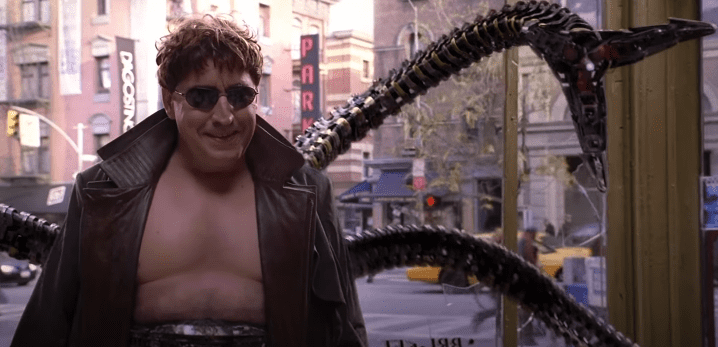 """Doctor Octopus in the film """"Spider-Man 2"""" 