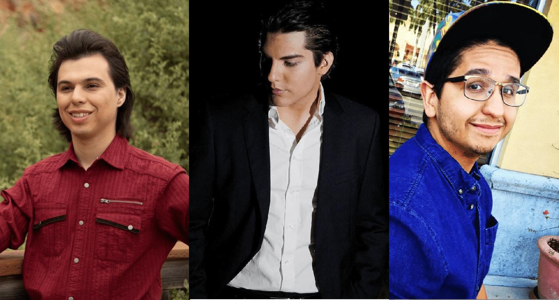 Joan Gabriel, Hans Gabriel y Jean Gabriel Aguilera Salas || Fuente: Instagram/joaogaguilera Instagram/officialhansaguilera Instagram/jeangabrielaguilera