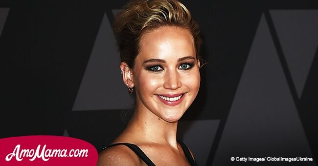 Jennifer Lawrence, 27, shows off her tiny waist in a pink dress during recent appearance