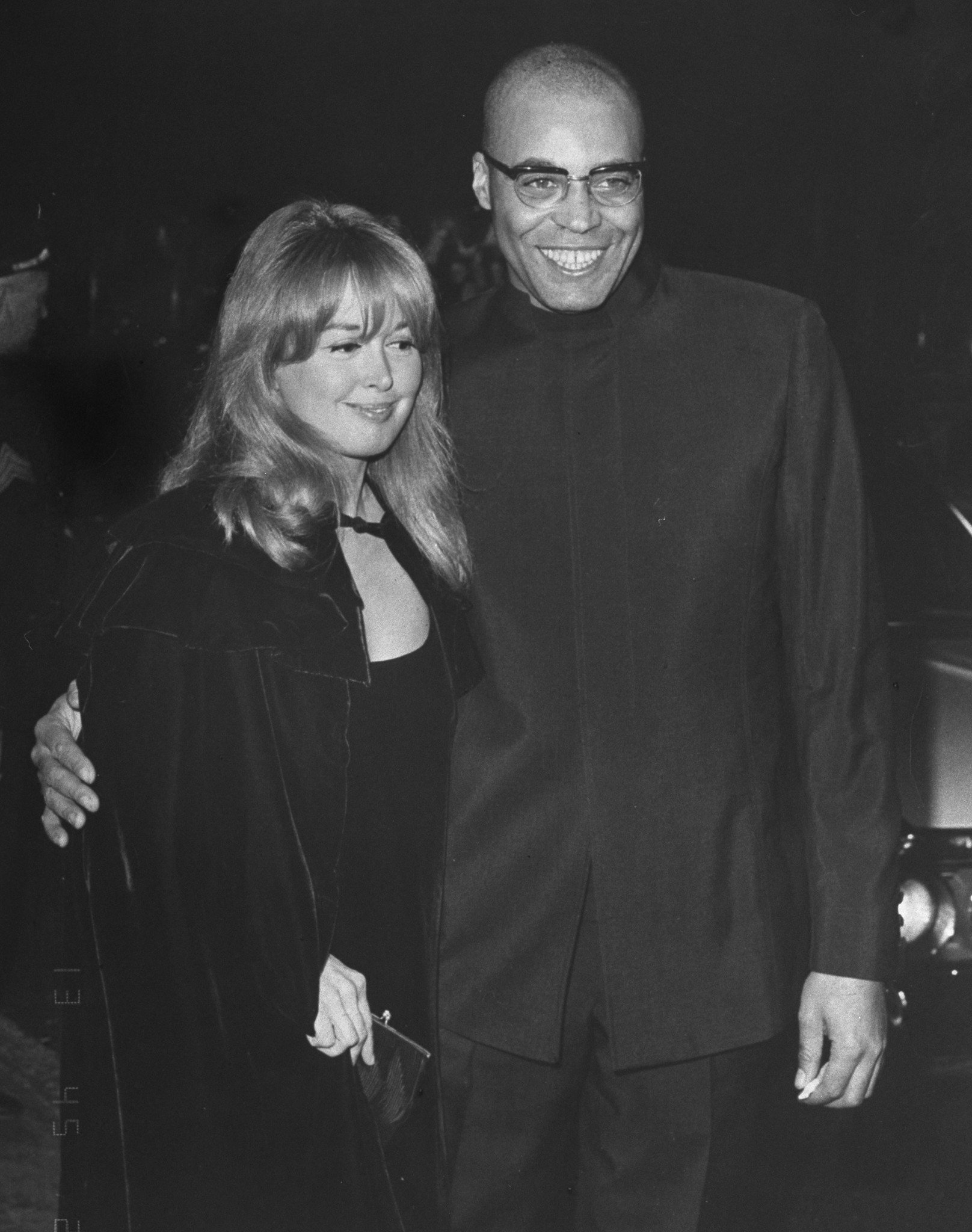 Actor James Earl Jones with his wife, Julienne Marie   Photo: Getty Images