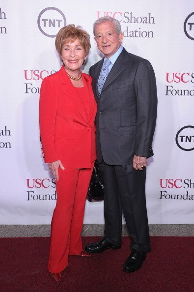 "Judith Sheindlin ""Judge Judy"" and Judge Jerry Sheindlin attend the USC Shoah Foundation Institute 2013 Ambassadors for Humanity gala at the American Museum of Natural History in New York 