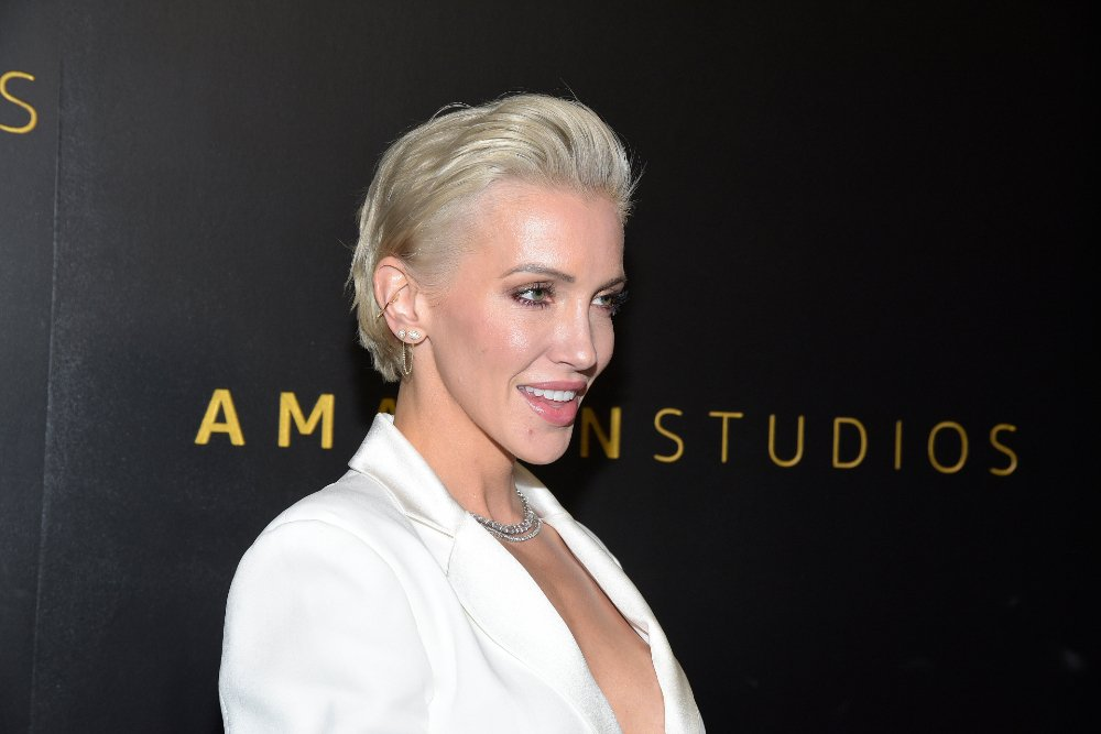 Katie Cassidy attending the Amazon Studios Golden Globes after party in Beverly Hills, California, in January 2020. | Image: Getty Images.