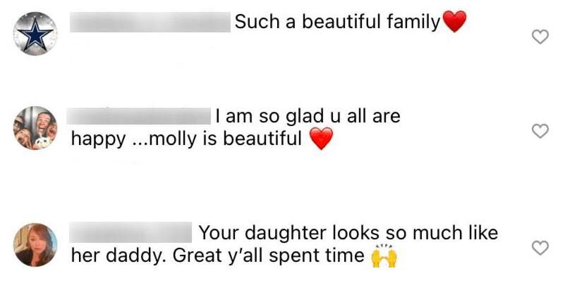 Fans comment on Amy Roloff's Instagram post that featured rare photos of her daughter Molly Roloff on July 25, 2021   Photo: Instagram/amyjroloff