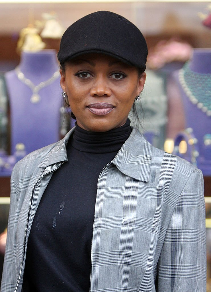 Theresa Randle in Beverly Hills on December 12, 2009. | Source: Getty Images