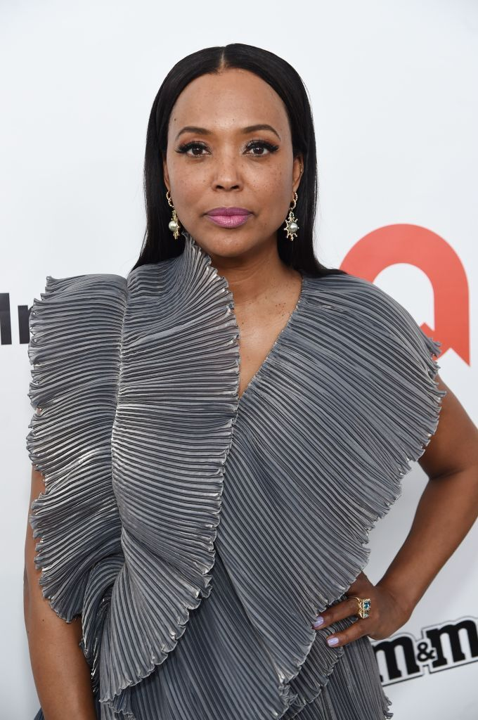 Aisha Tyler attends the 28th Annual Elton John AIDS Foundation Academy Awards Viewing Party sponsored by IMDb, Neuro Drinks and Walmart on February 09, 2020 in West Hollywood, California. | Source: Getty Images