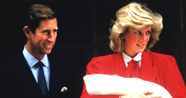 Prince Charles Hurt Princess Diana with a Joke about Having a Boy after Harry's Birth