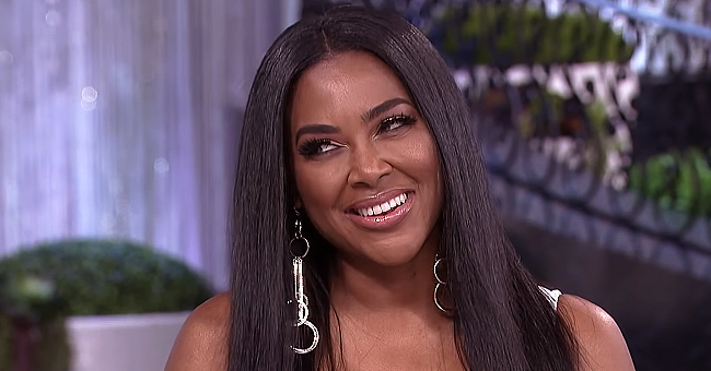 Kenya Moore Shares Cute Photo of Baby Brooklyn Chewing on Teething Necklace