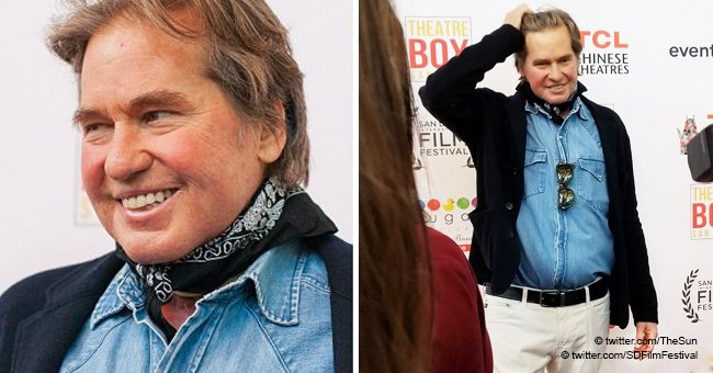 Brave Val Kilmer Makes a Rare Appearence after Overcoming a Two-Year Battle with Throat Cancer