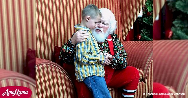 Boy afraid his disorder could ban him from Santa's list of 'nice' children