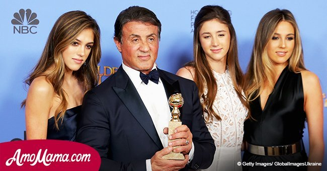 Sylvester Stallone's two daughters showcase their chiseled legs during their recent appearance