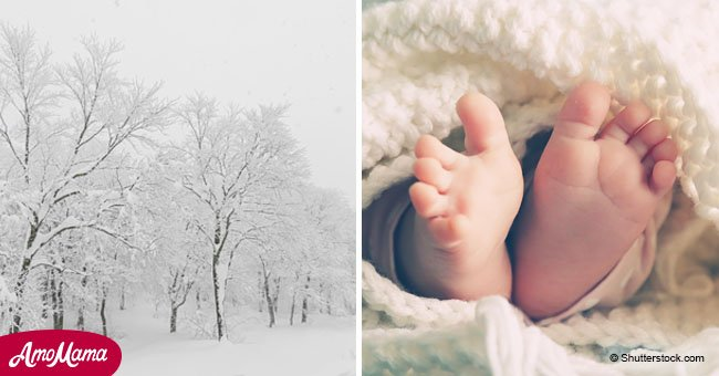 'She was crying for her life': 30-minute-old baby dumped in a park in sub-zero temperatures