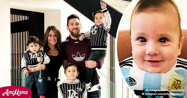 El hijo menor de Leo Messi ha crecido y luce exactamente como su padre en fotos recientes