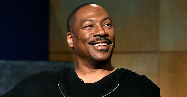 Eddie Murphy's Daughter Bella Shows a Different Look as She Wears a Blue Wig in a Photo