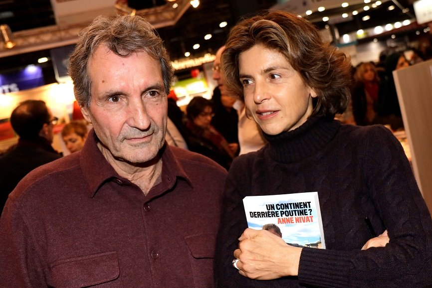 Jean-Jacques Bourdin et son épouse Anne Nivat | Photo : Getty Images