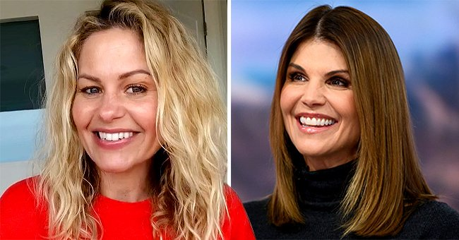See Lori Loughlin's Note to 'Fuller House' Co-star Candace Cameron Celebrating Series Finale