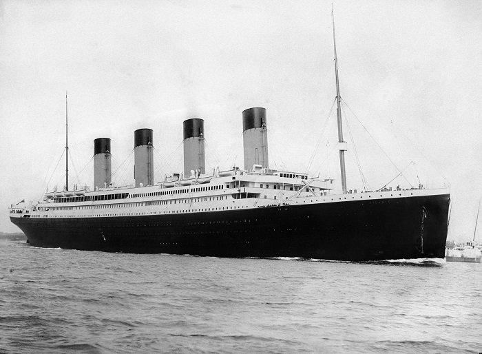 RMS Titanic departing Southampton on April 10, 1912 I Image: Wikimedia Commons